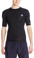 Hurley Men's Icon Short Sleeve Rashguard
