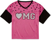 JCPenney Total Girl Varsity Tee - Girls 7-16 and Plus