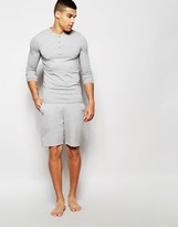Farah Jersey Lounge Shorts In Slim Fit