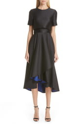 Jason Wu Collection Double Face Cocktail Dress