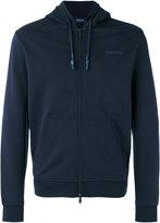 Armani Jeans zipped hoodie - men - Cotton - S