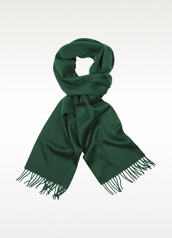CNC Costume National Coveri Collection Solid Wool Fringed Long Scarf