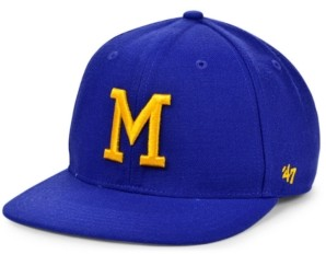 '47 Boys' Milwaukee Brewers Basic Coop Snapback Cap