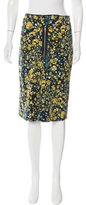 M Missoni Printed Knee-Length Skirt w/ Tags