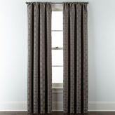 Liz Claiborne Henri Blackout Rod-Pocket/Back-Tab Curtain Panel