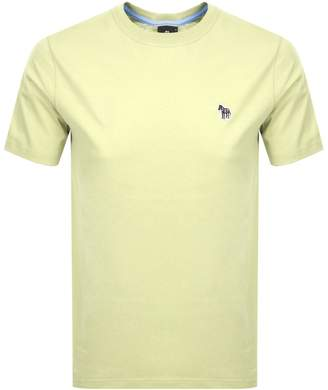 Paul Smith Regular Fit T Shirt Yellow
