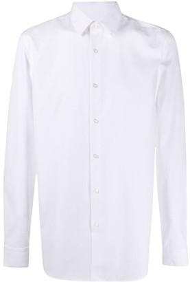 BOSS Long Sleeved Cotton Shirt