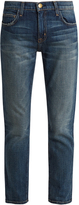 Current/Elliott The Fling low-slung straight-leg jeans