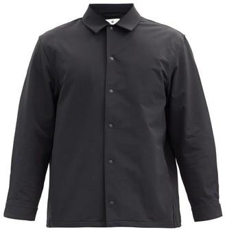 Snow Peak Point-collar Technical-shell Jacket - Black