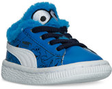 Puma Toddler Boys' Basket Sesame Street Casual Sneakers from Finish Line