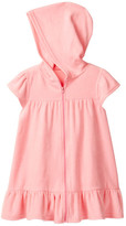 Floatimini Hooded Zip Front Terry Cover-Up (Toddler & Little Girls)