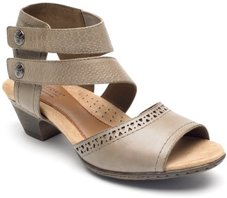 Cobb Hill Abbott Double Cuff Perforated Sandal
