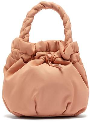 STAUD Stella Plaited-handle Drawstring Bag - Womens - Beige