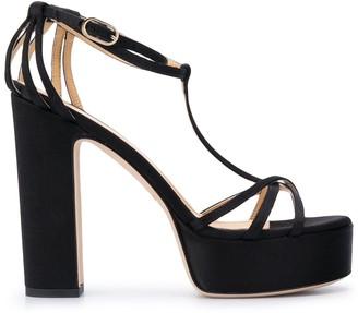 Giannico Chunky Heel Sandals