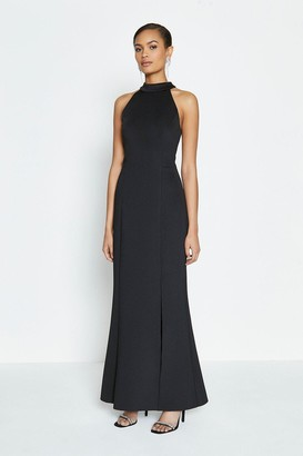 Coast Halter Neck Scuba Maxi Dress