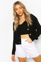 boohoo Cardigan & Bralet Knitted Co-Ord