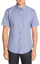 Zachary Prell Men's 'Bena' Regular Fit Check Sport Shirt
