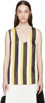Stella McCartney Tricolor Striped Tank Top