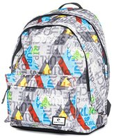 Rip Curl Mens Geo Party Double Dome Backpack Grey