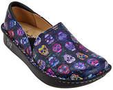 Alegria Leather Printed Slip-on Shoes - Debra Pro