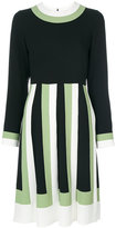 Valentino colour block dress - women - Acetate/Viscose - 40