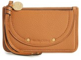 See by Chloe Women's Leather Card Holder - Brown