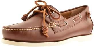 Ralph Lauren Merton Boat Shoes Brown