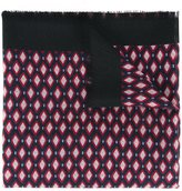 Marc Jacobs diamond print scarf - women - Silk/Cashmere - One Size