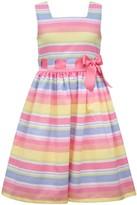 Bonnie Jean Girls 7-16 Multicolor Striped Dress