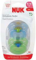 Gerber NUK Orthodontic Pacifier, Size 2 , 6-18 Months (Colors May Vary) 2 ea