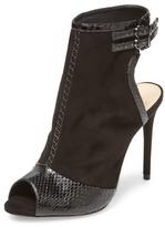 Alexandre Birman Leather High Heel Bootie