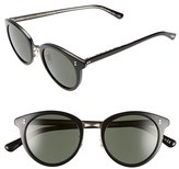 Oliver Peoples Women's 'Spelman' 50Mm Retro Sunglasses - Black