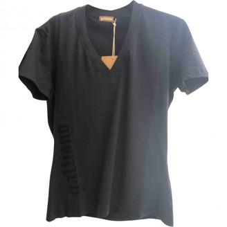 Galliano Blue Cotton Top for Women