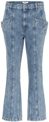 Etoile Isabel Marant Notty high-rise straight jeans