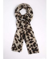 Dorothy Perkins Womens Leopard Print Scarf- Leopard