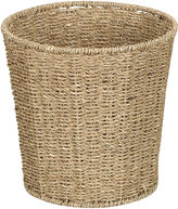 Household Essentials Woven Seagrass Wastebasket