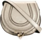 Chloé metallic mini Marcie crossbody bag