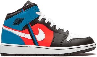Nike Kids TEEN Air Jordan 1 Mid Game Time GS sneakers