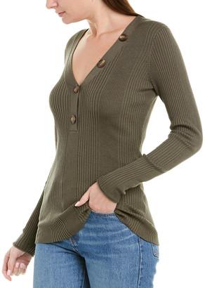 Jason Wu Ribbed Silk & Alpaca-Blend Sweater