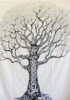 Rajasthancreations Indian Tree Decor Hippie Wall Hanging Tapestry Mandala Throw Bohemian Twin Bedspread