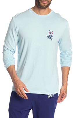 Psycho Bunny Bunny Crew Neck Long Sleeve Lounge T-Shirt