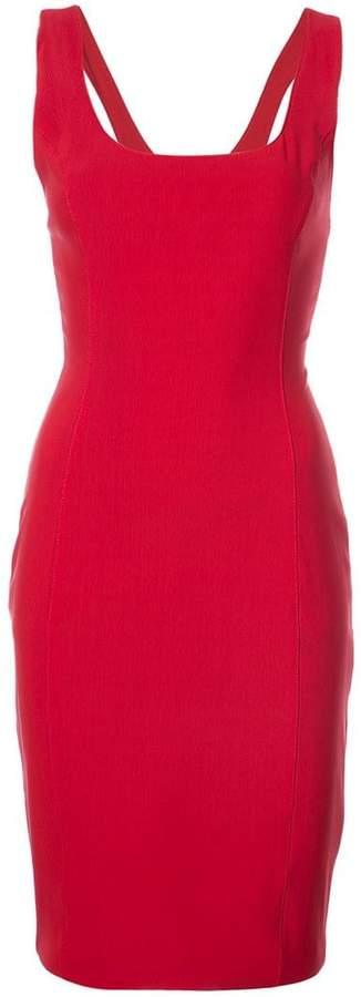 Alexander Wang fitted silhouette dress