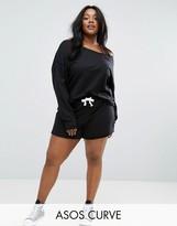 Asos LOUNGE Shorts With Raw Edge