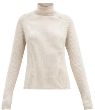 Joseph Cote Anglaise Roll-neck Sweater - Light Beige