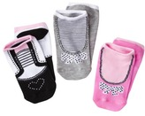 Xhilaration Girls'' 3-Pack Ankle Sock - Assorted