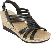Yuu Greta Strap Wedge Sandals