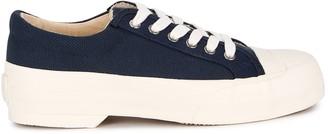Good News Sunn Navy Canvas Sneakers
