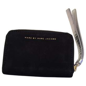 Marc by Marc Jacobs Black Suede Wallets