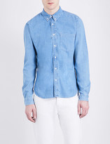Sandro Regular-fit pure-cotton denim shirt