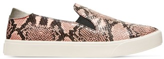 Cole Haan GrandPro Spectator Slip-On Snakeskin-Embossed Leather Sneakers